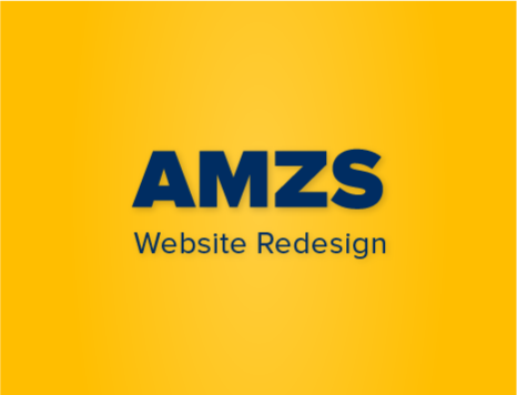 AMZS website redesign