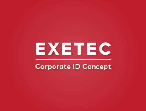 EXETEC corporate ID concept